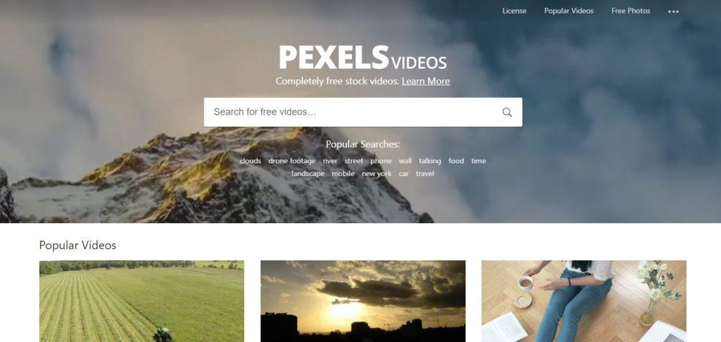 pexels 1024x486 - 動画編集練習用の映像素材サイト5選