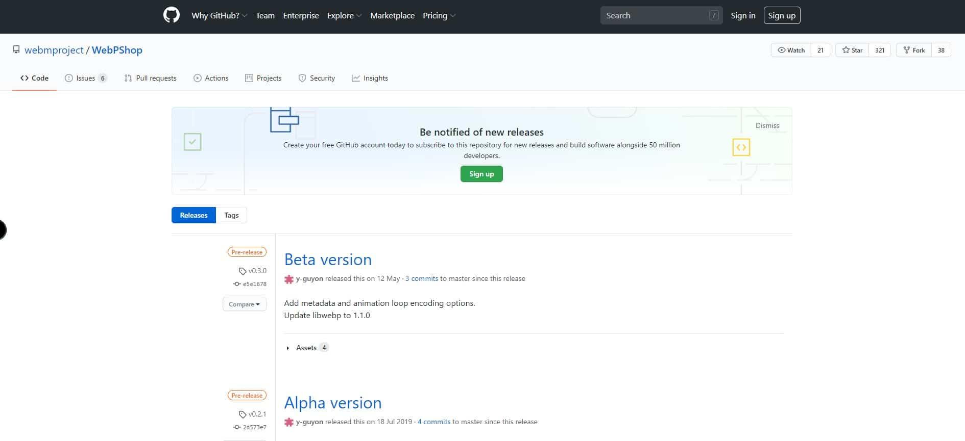 GithubWebp - WebPをPhotoshopで使えるようにするGoogle開発のプラグイン!