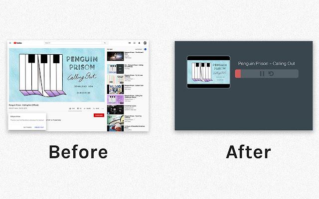 thumb - Youtubeで音のみを再生するChrome拡張機能【広告なし】